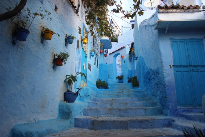 Feasting in Chefchaouen